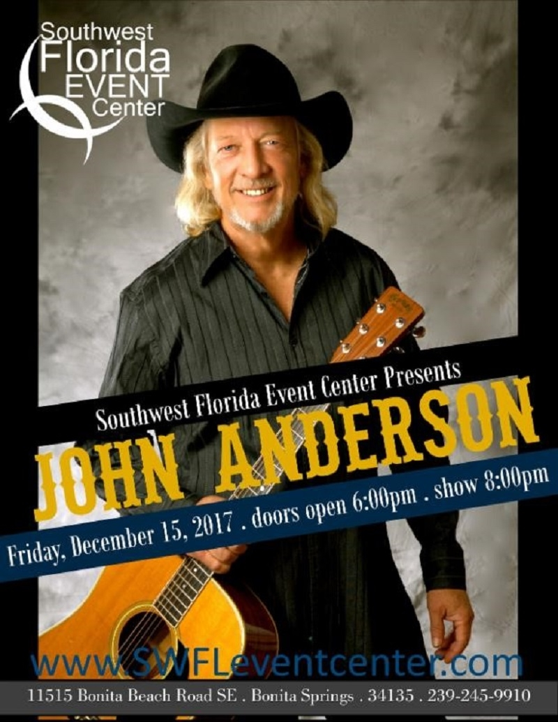 John Anderson at SW FL Event Center